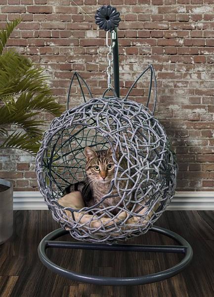 <b>Kitty</b> Askılı Rattan Salıncak